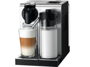 espresso machine with pod system