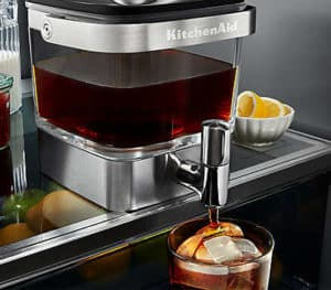 Built in stainless steel cold brew coffee maker