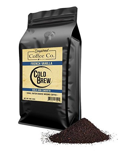 Inspired Coffee Co. French Vanilla Flavored Cold Brew Coffee