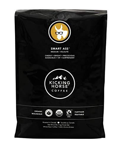 Kicking Horse Coffee, Smart Ass, Medium Roast, Whole Bean