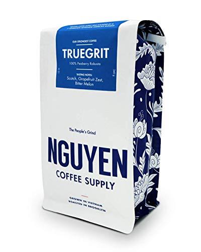 Truegrit Whole Peaberry Robusta Coffee Bean