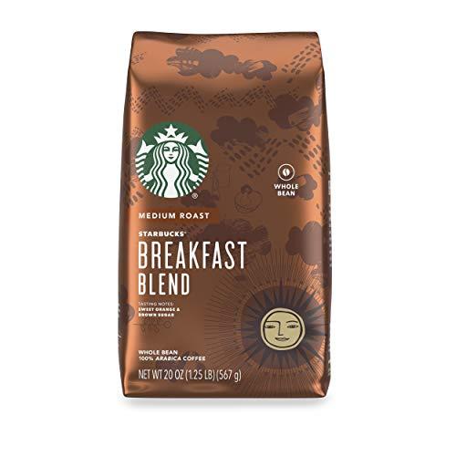 Starbucks Medium Roast Whole Bean Coffee — Breakfast Blend