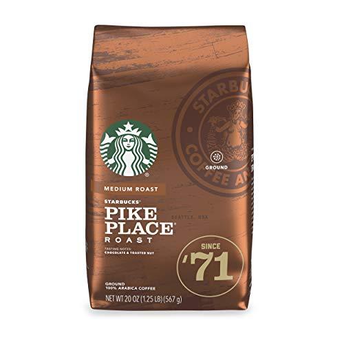 Starbucks Ground Coffee - Pike Place Roast