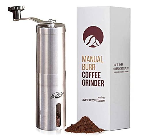 JavaPresse Manual Coffee Grinder with Adjustable Setting