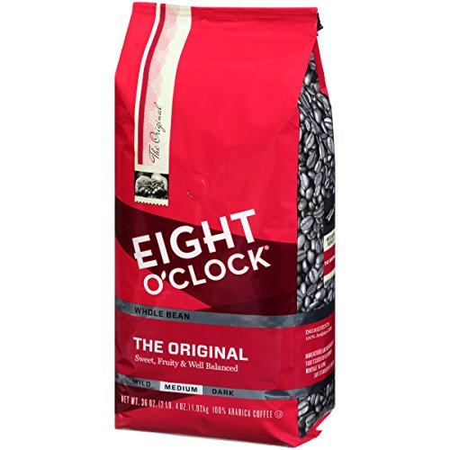 Eight O'Clock Coffee Original, Medium Roast, Whole Bean Coffee