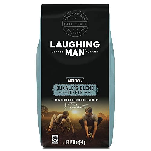 Laughing Man Dukale's Blend, Whole Bean Coffee, Medium Roast