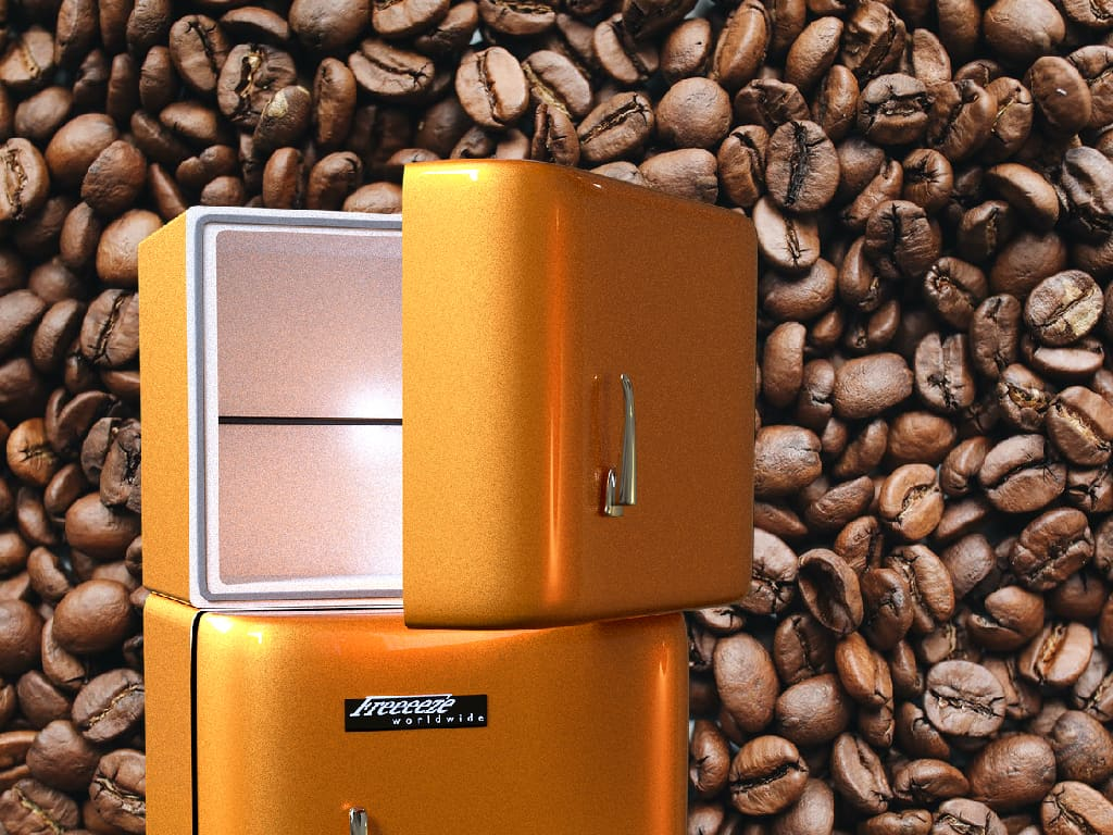 should you freeze coffee beans