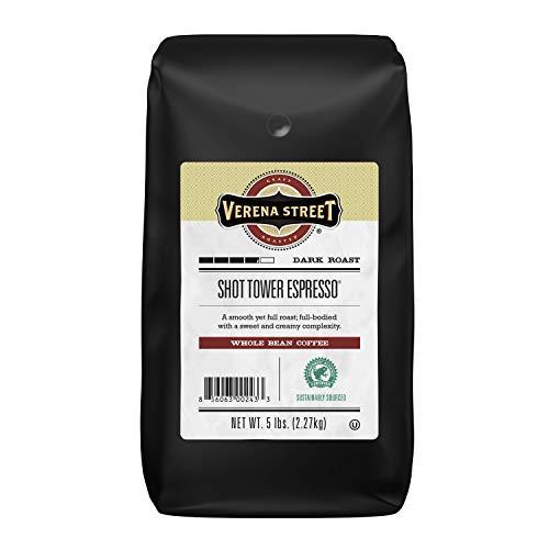 Verena Street 5 Pound Espresso Beans, Shot Tower Espresso Whole Bean