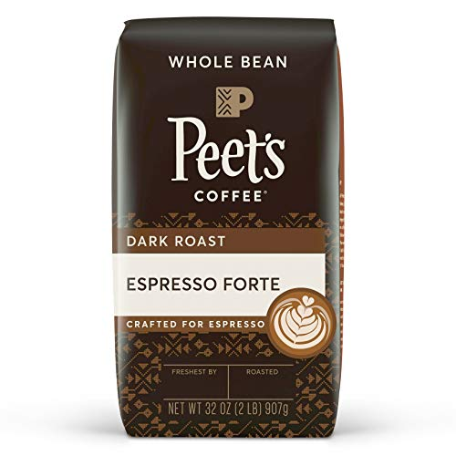 Peet's Coffee Espresso Forte, Dark Espresso Roast