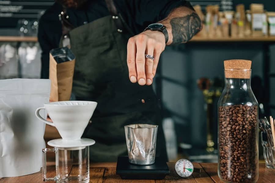 How to Measure Coffee Using a Digital Scale