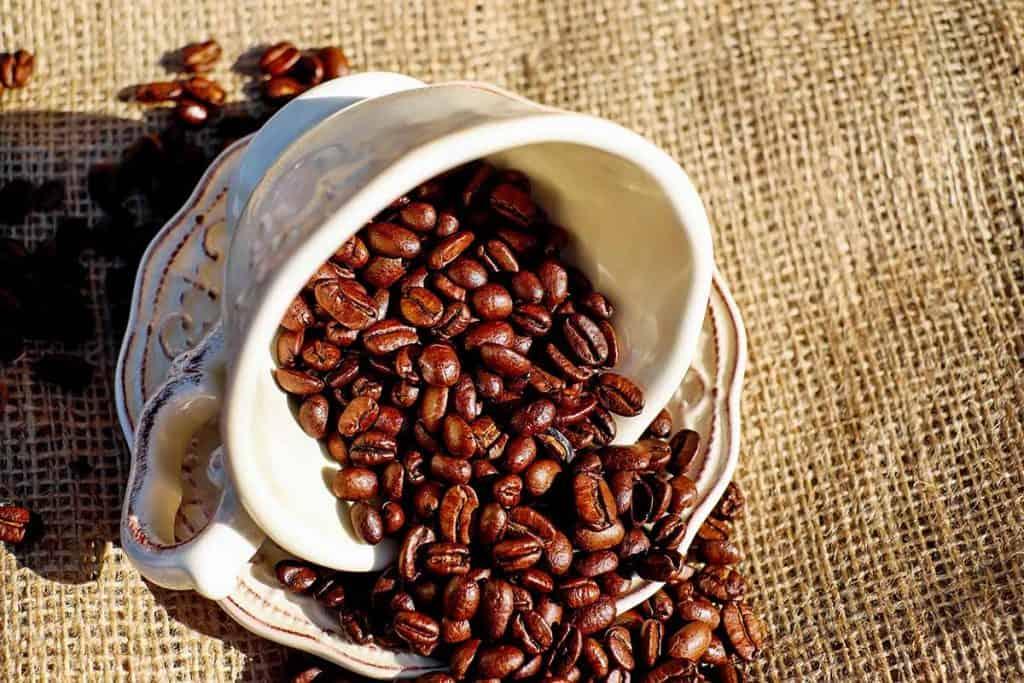 how much caffeine in espresso beans