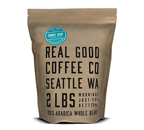 Real Good Coffee Co Donut Shop Medium Roast