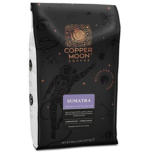 Copper Moon Coffee Sumatra Dark Roast Whole Coffee Beans