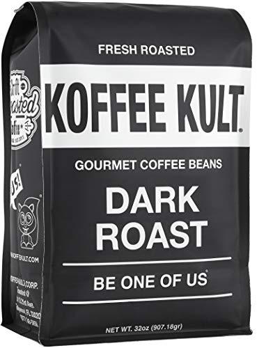 Koffee Kult Gourmet Dark Roast Whole Coffee Beans
