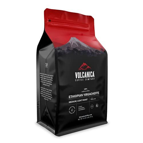 Volcanica Organic Ethiopian Yirgacheffe Coffee