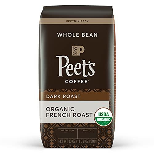 Peet's Coffee Organic French Dark Roast Whole Coffee Beans