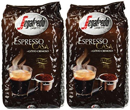 Segafredo Zanetti Casa Italian Espresso Whole Coffee Beans